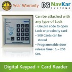 Door Access Control System with Digital Keypad + RFID Card Reader NS-MG-236B