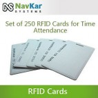 Set Of 250 RFID Cards For Biometric Time Attendance System