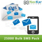 25000 Bulk SMS Pack in Rs. 7500