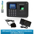 Biometric Fingerprint Time Attendance System wid Battery backup / UPS