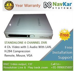 4 Channel Standalone DVR ELECTRONIC EYE with 3G & online Veiwing in Web Browser