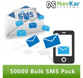 50000 Bulk SMS Pack in Rs. 10500