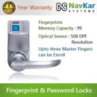 Biometric Door Entry Lock based on   Fingerprint + Password + Mechanical Key Model NS-788 by ADEL