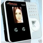 Realtime T401F Face ID + Fingerprint + RFID Biometric Time & Attendance Recorder