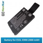NAVKAR Battery for Biometric Fingerprint Time & Attendance System X990