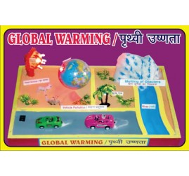 Global Warming Working Model | Science Working Models for Educational Purpose