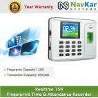 Realtime T5N Fingerprint Time & Attendance Recorder