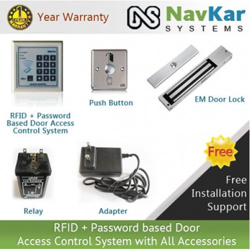 Rfid Password Based Digital Keypad Door Access Control System With