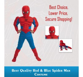 Amazing Spiderman Costume with Muscles