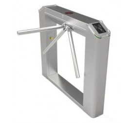 Semi Automatic Bi-Directional Narrow Bridge Tripod Turnstile RFID Card Based Time and Attendance System (TS241)