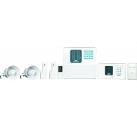 Wireless Security System Kit With Speech Dialer