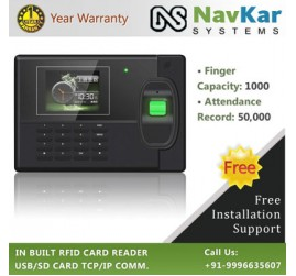 Colored Screen Biometric Time & Attendance System based on Fingerprint Model  AV18