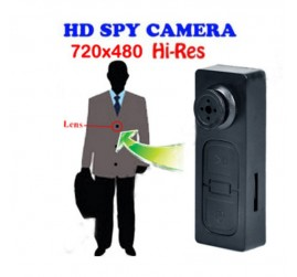 Pinhole HD Mini Button Camera Camcorder Digital Video 30FPS Recorder