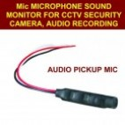 CCTV Audio Chip for audio recording