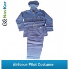 Airforce Pilot Costume | Professional Fancy Dress Costume for Kids