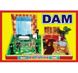 Hydro-Electric Dam Working Model | Science Working Models for Educational Purpose