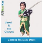 Jhansi Ki Rani as Manu Fancy Dress Costumes with all required Accessories