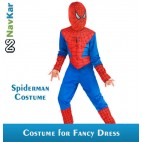 Red and Blue Spiderman Costumes