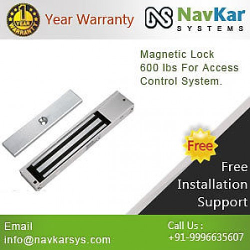 Electromagnetic Lock Or Magnetic Lock 600 Lbs For Access