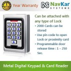 Standalone Door Access Controller Metal Case + Digital Keypad + Card Reader NS-KP15