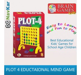 PLOT-4 Board Mind Game for Kids | Help to Improves IQ by Making Strategies