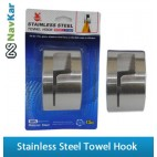 New Rust Proof Permanent Stick Stainless Steel Towel Hooks