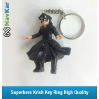 Superhero Krish / Krrish High Quality Rubber Key Ring