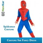 NAVKAR Spiderman Set of 5 Costumes Fancy Dress Outfit Suit Mask Children (5-6) / Spiderman Kids Costume Wear/ Birthday Party fancy Dress
