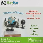 NAVKAR Working Model of Moon Phases (Motorised) | Solar Educational Kits