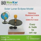 NAVKAR Solar & Lunar Eclipse Model ( Motorised) | Solar Educational Kits