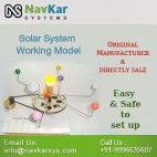 Solar System Working Model | Solar Educational Kits | Sun with Planet Model