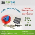 NAVKAR Solar Water Pump | Solar Powered Water Pump | Solar Educational Kits