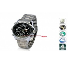SPY CAMERA WRIST WATCH 4GB