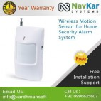Wireless Motion Sensor For Home Security Alarm System / PIR Motion Sensor