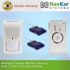 Infrared PIR Sensor Alarm Infrared Motion Detector Burglar Security Alarm System