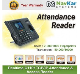 REALTIME C101 ECO SERIES USB BASED EXCEL OUTPUT BIOMETRIC RFID CARD BASED ATTENDANCE SYSTEM