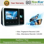 Realtime T Pad Fingerprint Access Control & Time Attendance