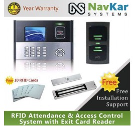 RFID Attendance & Access Control System with Exit Card Reader