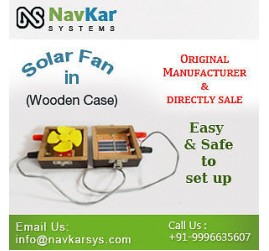 Solar Fan (Wooden) | Solar Powered Fan | Solar Educational Kits