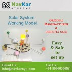 Solar System Working Model | Working Educational Models | Sun with Planet Model