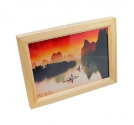4GB Wooden Photo Frame Camera Spy Painting Pin Hole Lens HD DVR Remote Control Hidden Video camera