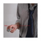 Spy 4 GB Hidden Camera in Tie with Wireless Remote Audio / Video Recorder