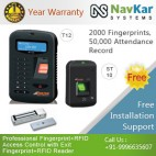 T12 + ST10 Fingerprint + RFID Card Biometric Attendance System
