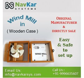 Wind Mill (Wooden) | Wooden Wind Mill Model | Solar Educational Kits