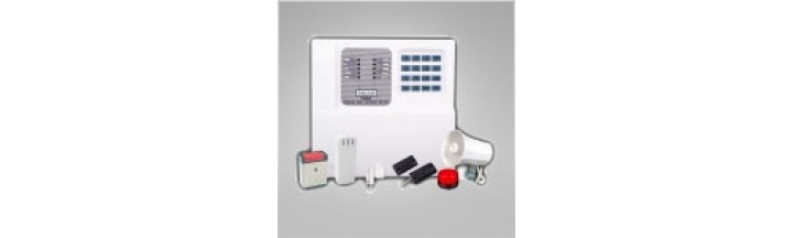 WIRED INTRUDER ALARM SYSTEM KIT