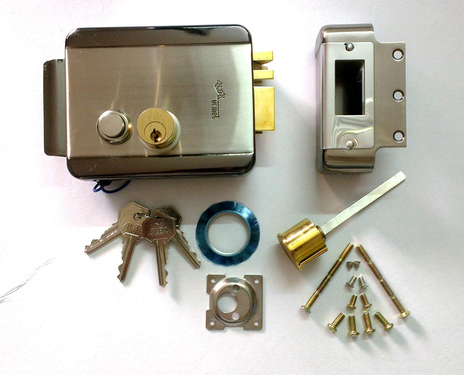 600lbs280kg Holding Force Electric Strike Locks Protect Single Em